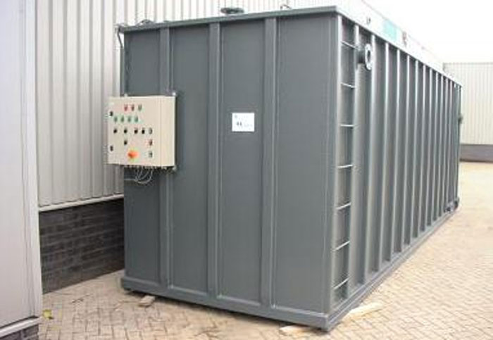 Sewage Treatment Plants Containerized Stp Field Erected